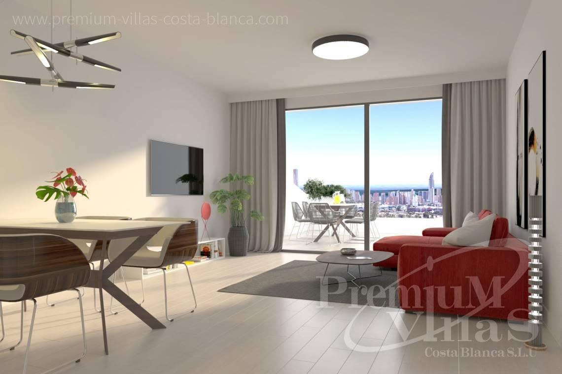 - A0622 - 2 bedrooms apartments with sea views in Finestrat 7