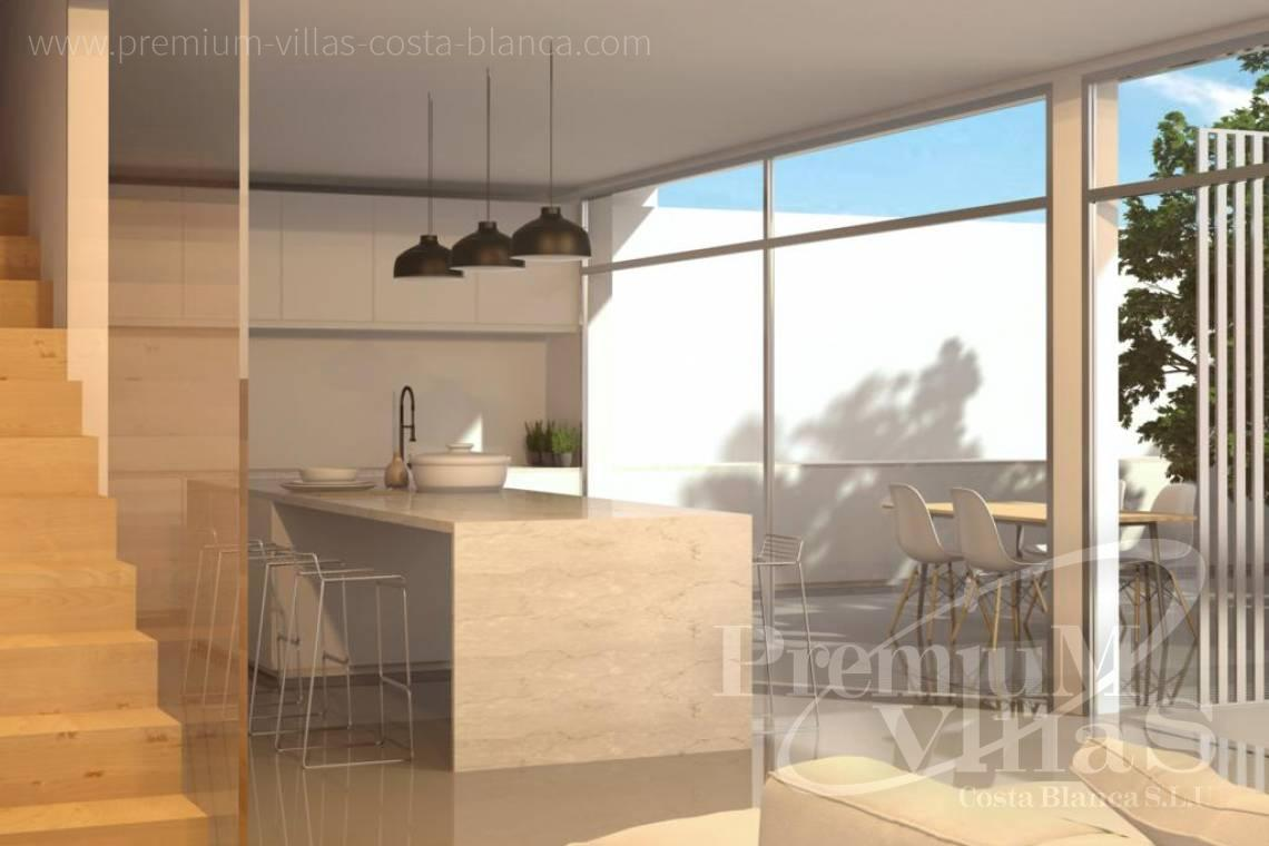 buy property Moraira Costa Blanca - C2219 - New construction: Modern villa 2km from the beach and the centre of Moraira. 4