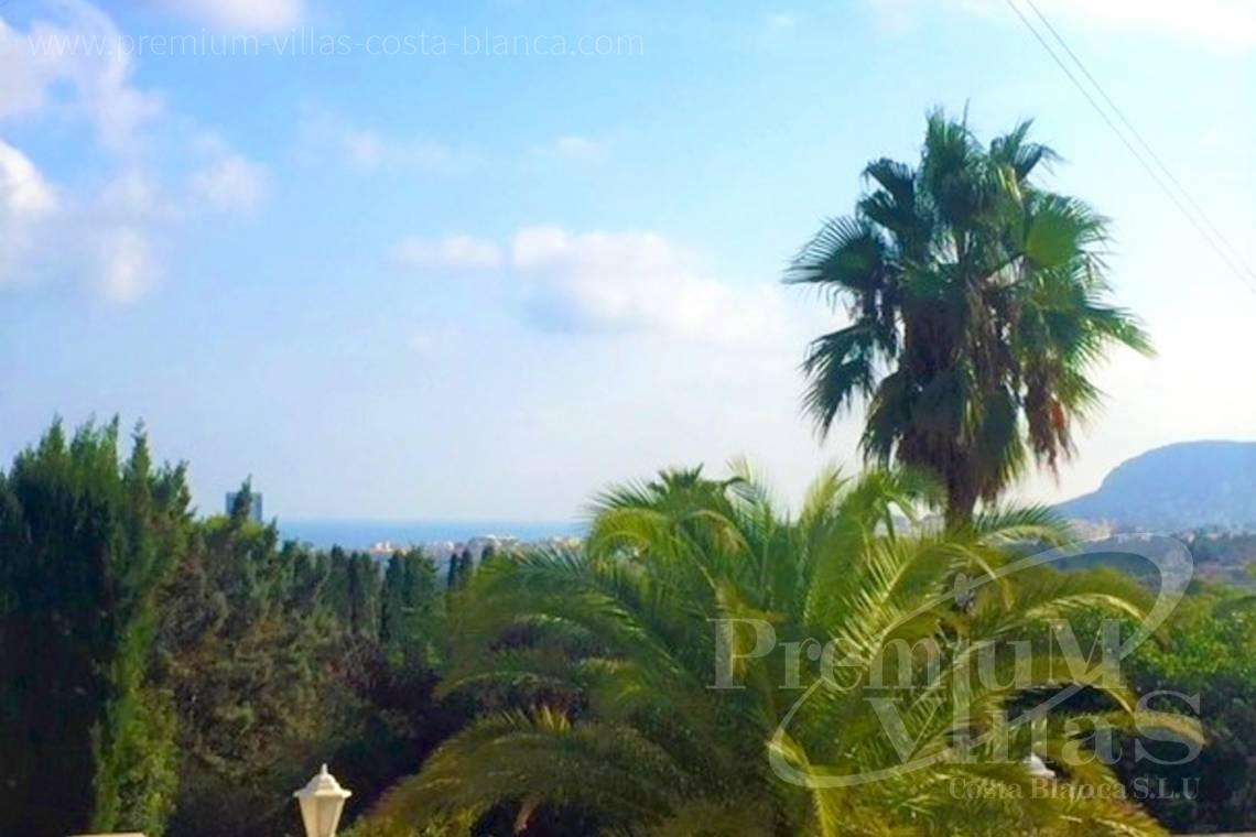 Buy villas houses sea view Calpe Costa Blanca - C2153 - Villa in Calpe with guest apartment and wonderful views 3