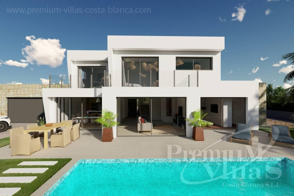 Buy a modern villa in Calpe Costa Blanca - C2312 - Modern 4 bedroom villa near the beach in Calpe 2