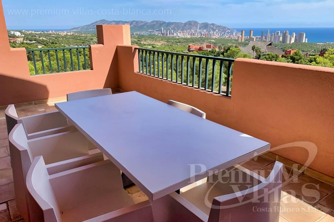 Duplex penthouse with sea views for sale in Benidorm Costa Blanca - A0664 - Duplex penthouse in the urbanization Sierra Cortina, Finestrat 3