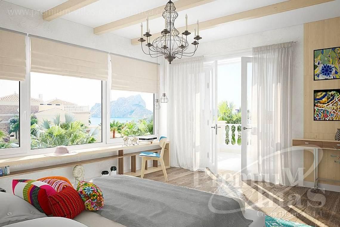 - C2119 - Spectacular villa of 6 bedrooms at 200 meters from the sea in Calpe 17