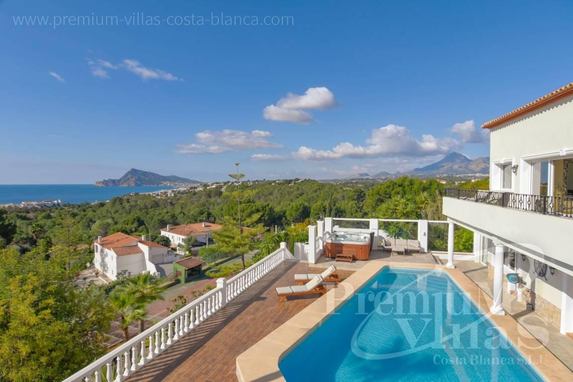 Buy luxury villa with sea views in Altea Costa Blanca - C2305 - Luxury villa with sea views in the Sierra de Altea 2