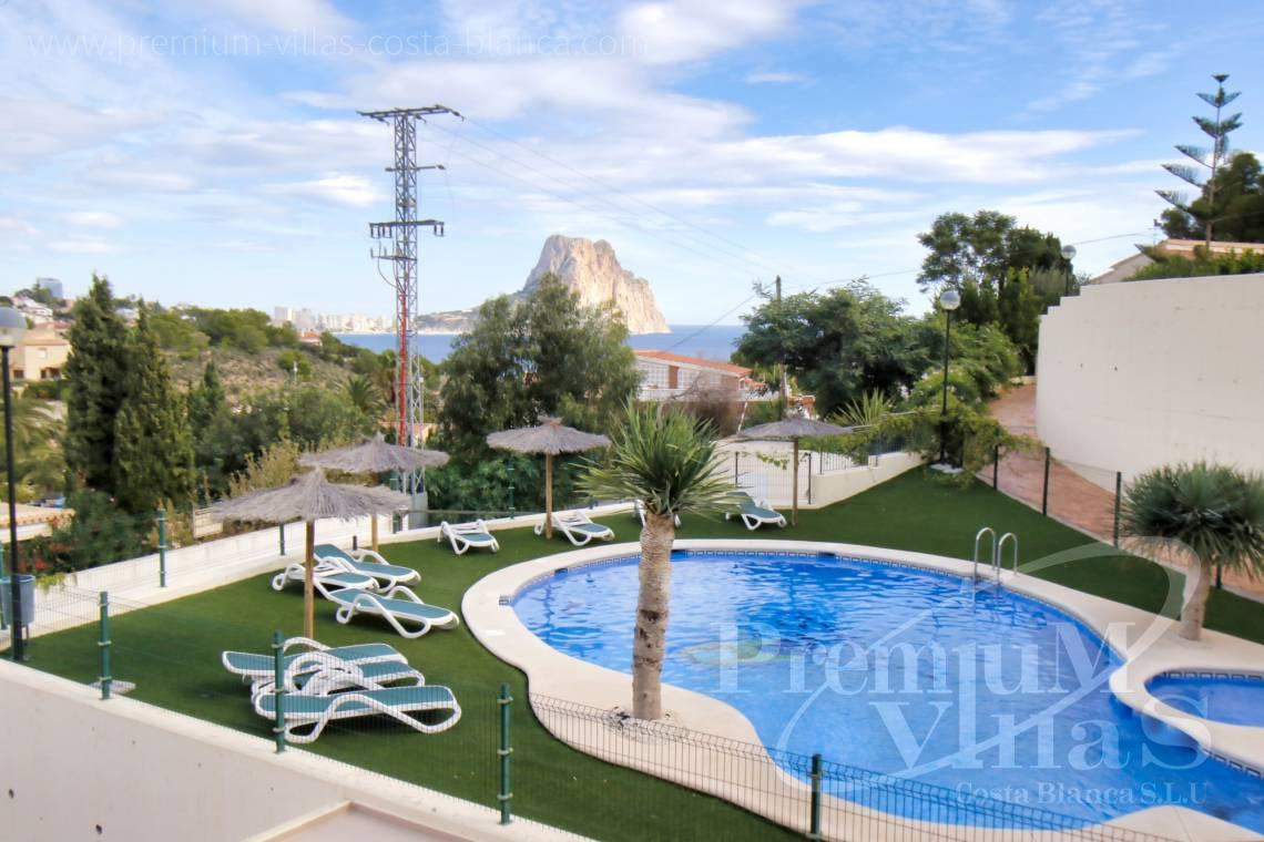 Buy bungalow with sea views in Calpe Costa Blanca - C2279 - Corner terraced house in Montesol urbanization in Calpe 22
