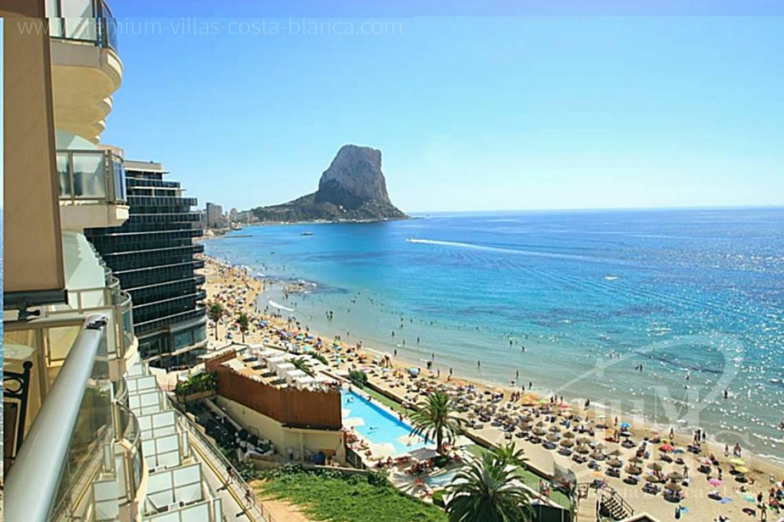 First line beach apartment for sale in Calpe Costa Blanca - AC0652 - First line beach apartment in Calpe 1