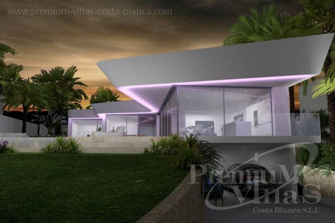 Buy a modern villa in Benissa Costa Blanca - C1802 - New construction! Modern house in Benissa for sale 2