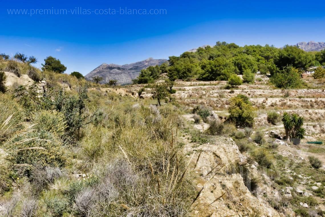 Plot for sale in Altea Costa Blanca - 0207G - Plot of 20000sqm close to the old town of Altea 5