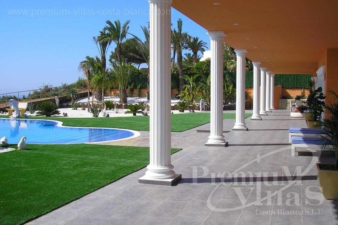 buy house villa Moraira Costa Blanca - C1589 - Magnificent mansion on the sea front in Moraira 23