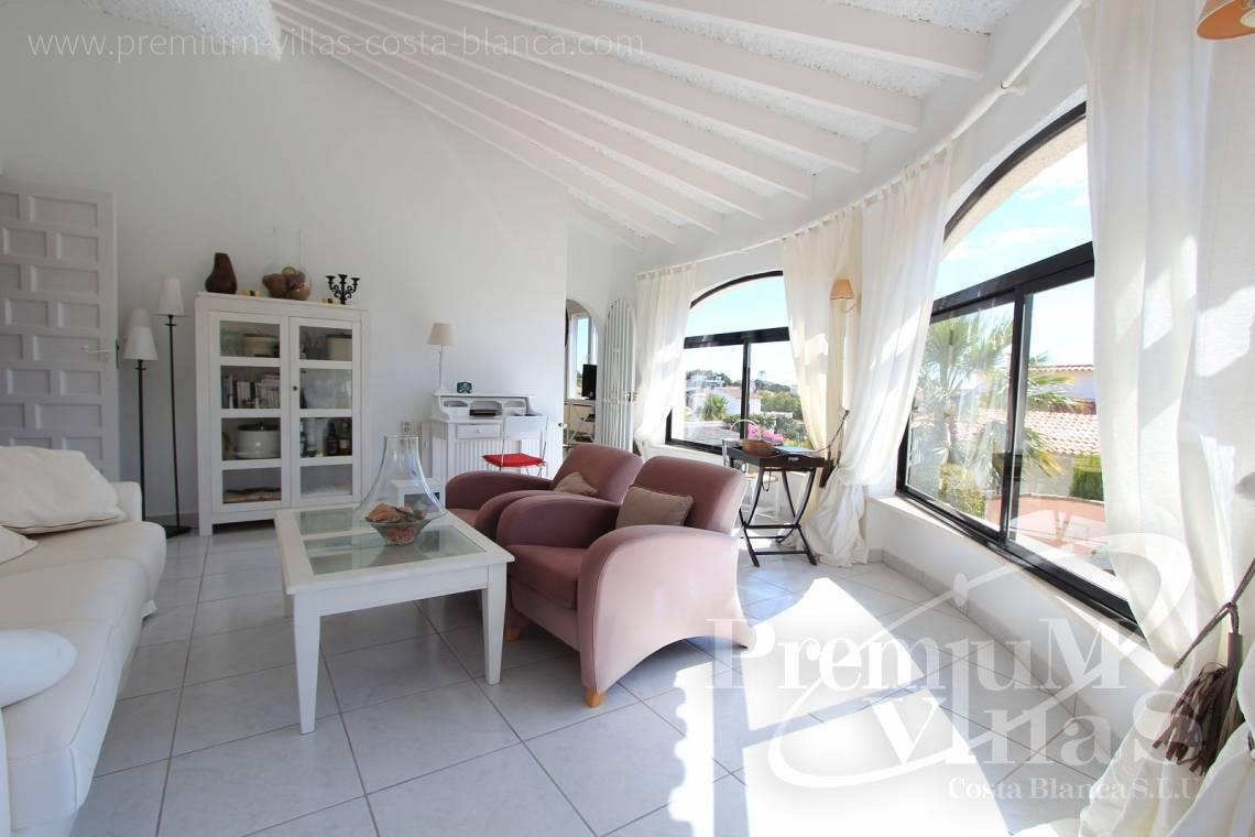 - C1983 - Charming villa with nice seaviews and guest apartment in Calpe  8
