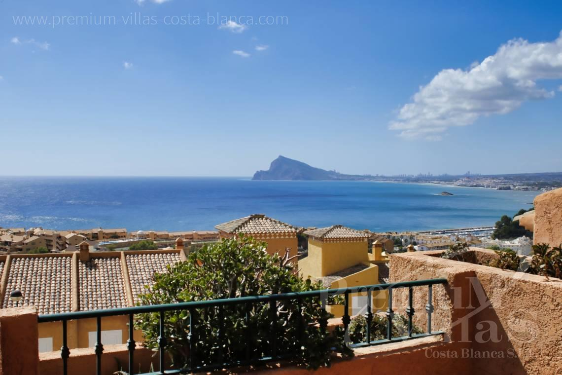 buy bungalow Mascarat Altea Costa Blanca - C2224 - Bungalow in Mascarat near the beach, with spectacular views of the bay of Altea 1