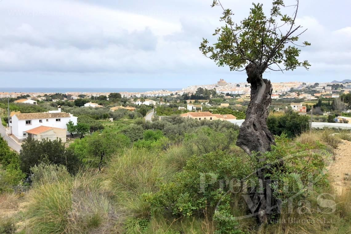 - 0207G - Plot of 20000sqm to build two Fincas close to the old town of Altea 2