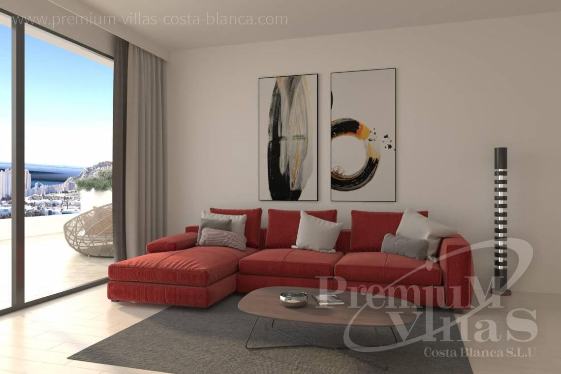 - A0622 - 2 bedrooms apartments with sea views in Finestrat 11