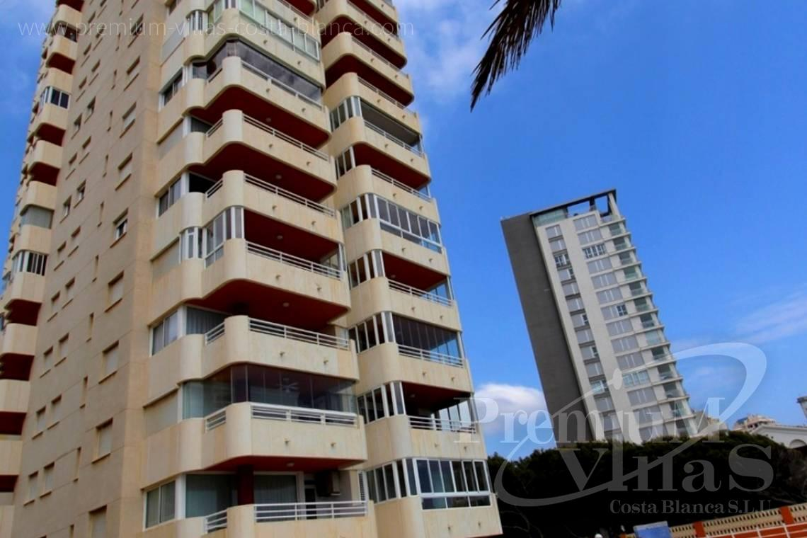 buy 2 bedrooms apartment  Calpe Costa Blanca Spain - A0575 - Apartment in front of the sea with spectacular views of Ifach Rock. 11