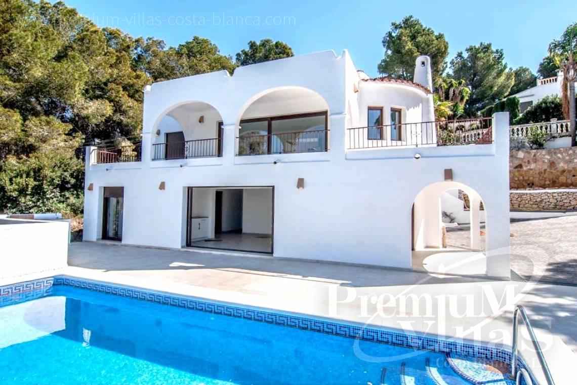 Buy Villa house Moraira Costa Blanca - C2152 - Refurbished house with sea views only 1.700 m from the beach and the centre of Moraira 1