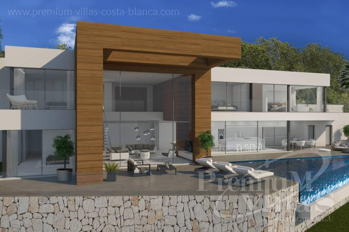 Buy modern villa in Moraira Costa Blanca - C2133 - New construction villa 4km from Moraira 2