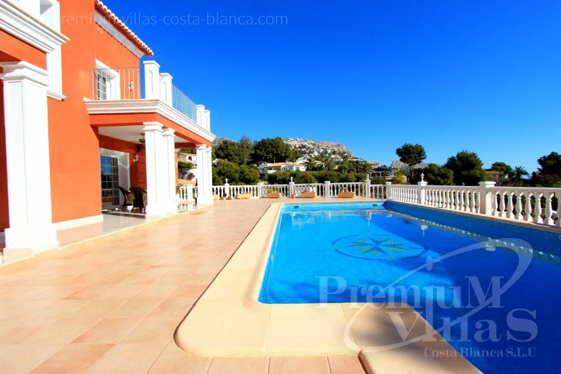 Villa with private pool in Altea Costa Blanca - C1721 - Colonial style villa in Altea with lovely sea views 4