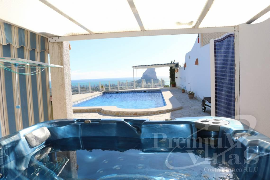 Buy villas houses sea view Calpe Costa Blanca - C1999 - Villa with nice sea view and guest apartment 6