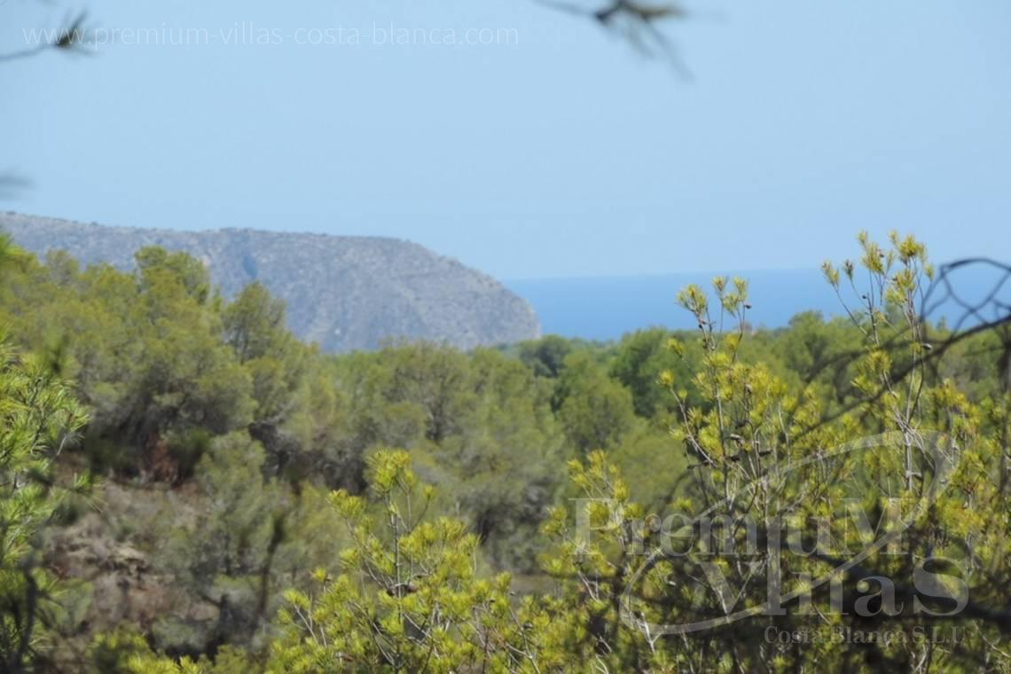 Plot for sale with sea views in Benissa Costa Blanca - 0208G - Urban plot in Benissa with sea views 1.5km from the beach 4