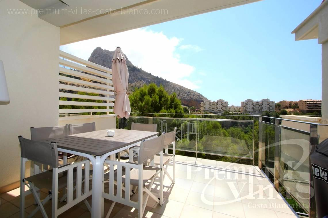 Apartment penthouse duplex near beach sea views Altea Calpe Costa Blanca - A0552 - Beautiful and spacious penthouse in Mascarat 3