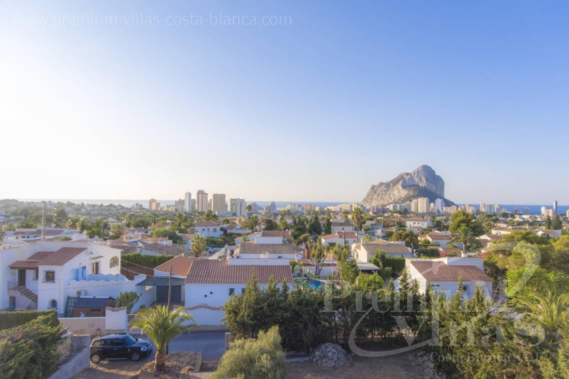 House villa for sale Calpe Costa Blanca - C2240 - Modern villa in urbanization Ortenbach in Calpe 11