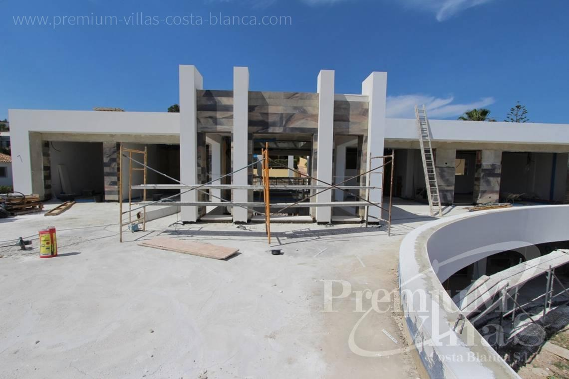- C1698 - Modern design villa for sale with nice sea views in Benissa  5