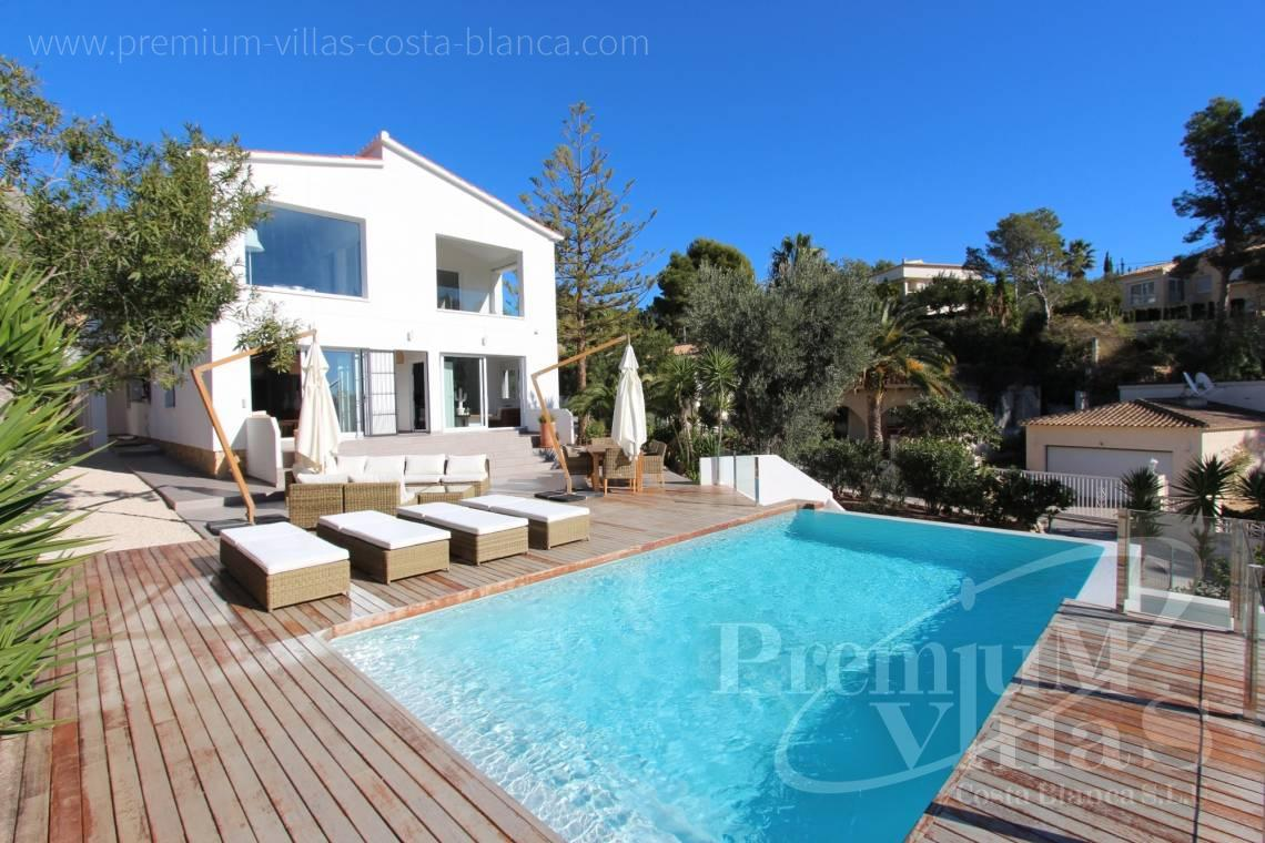 Ibiza style villa for sale in Altea Costa Blanca - CC2387 - Ibizan style villa with sea views in Altea 1
