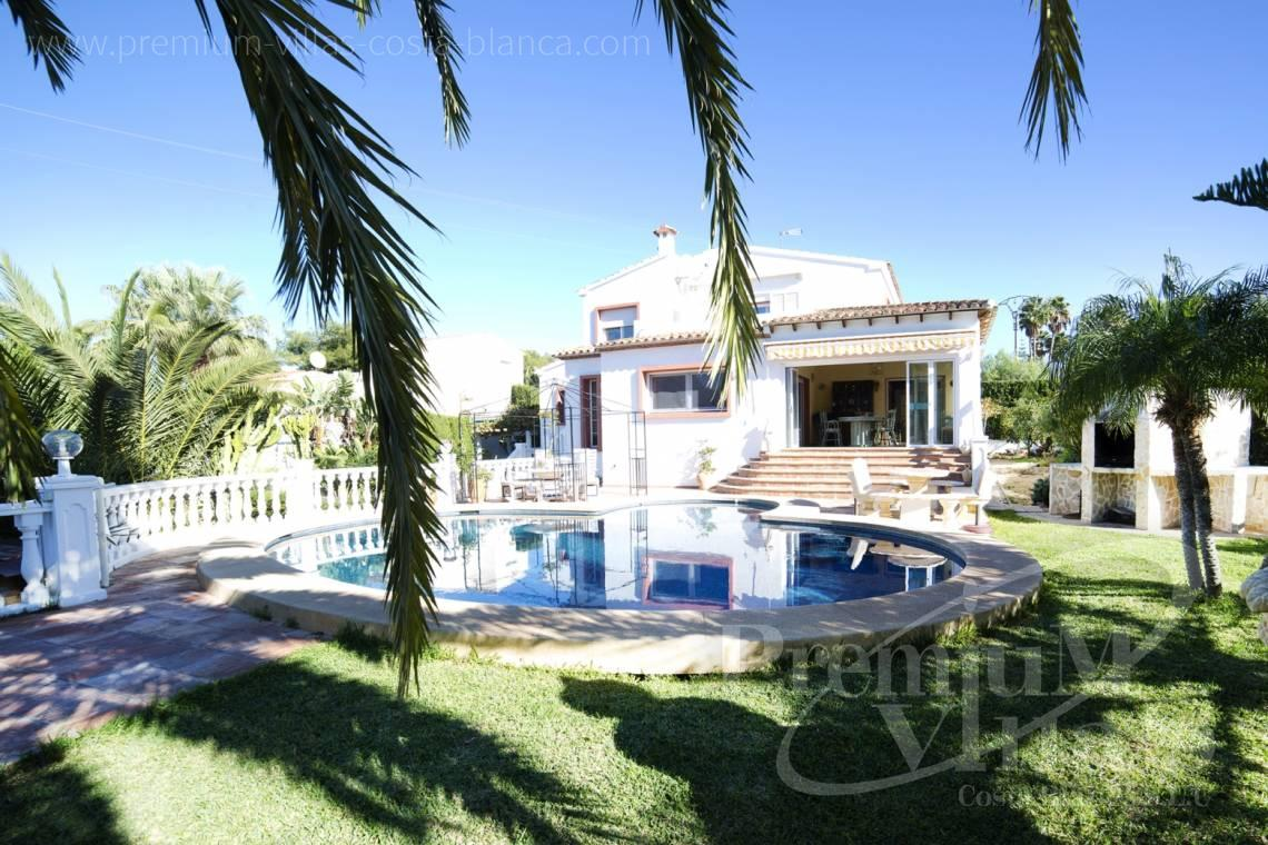 House villa for sale Calpe Costa Blanca - C2171 - Villa in Calpe with guest apartment  3