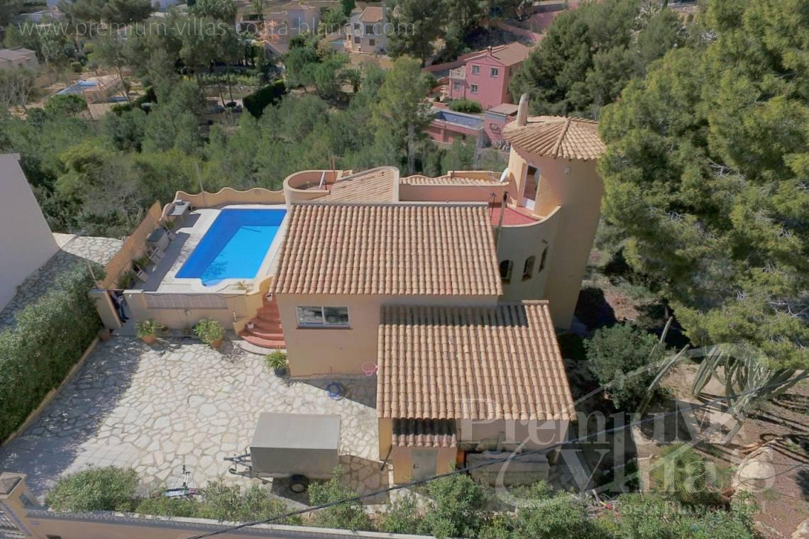 Buy villa in the Sierra de Altea Costablanca - C2052 - Mediterranean villa for sale with modern interior 5