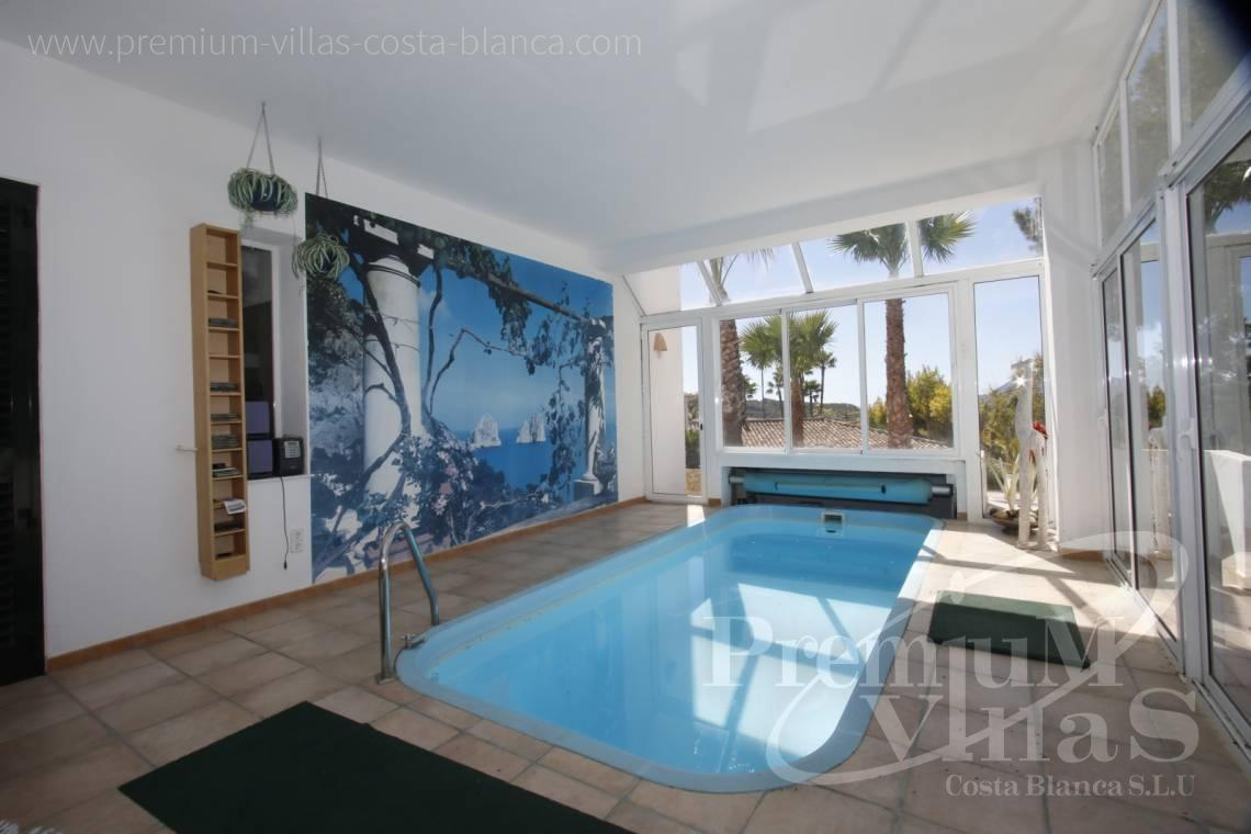 Buy villa with heated pool in Altea Spain - C2141 - House in Altea with indoor pool, sauna, lift and guest apartment 5