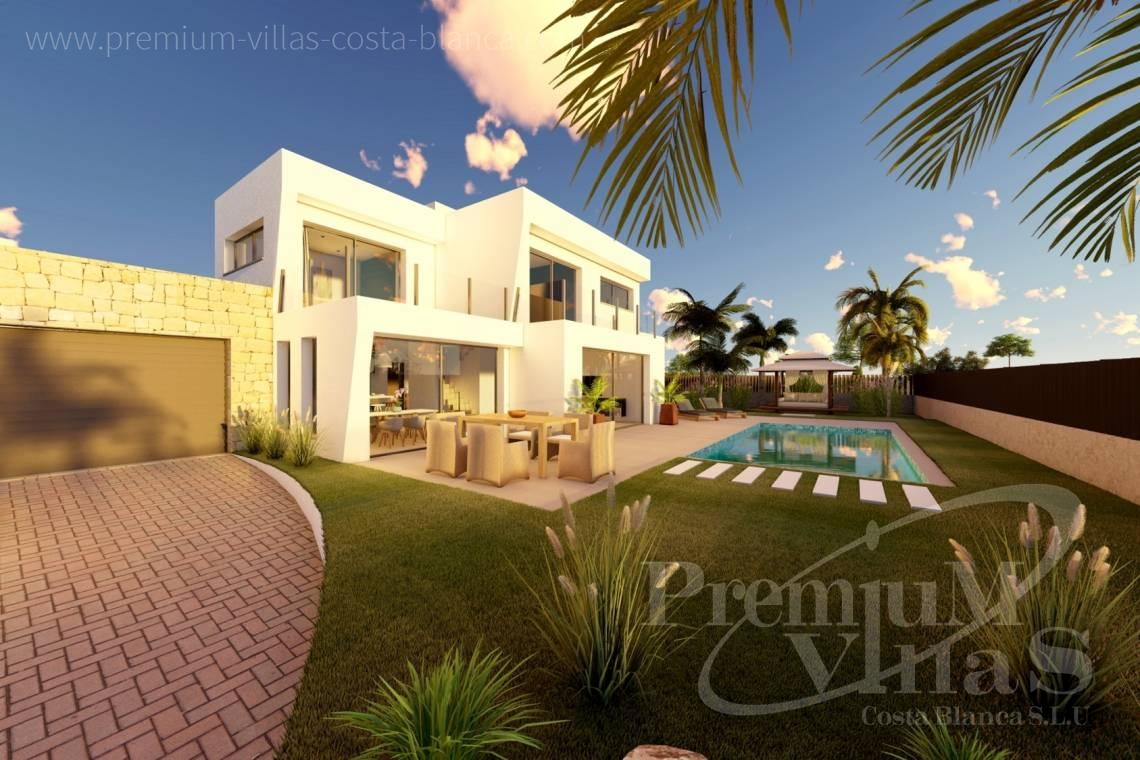 Modern 4 bedroom villa for sale in Calpe - C2312 - Modern 4 bedroom villa near the beach in Calpe 18