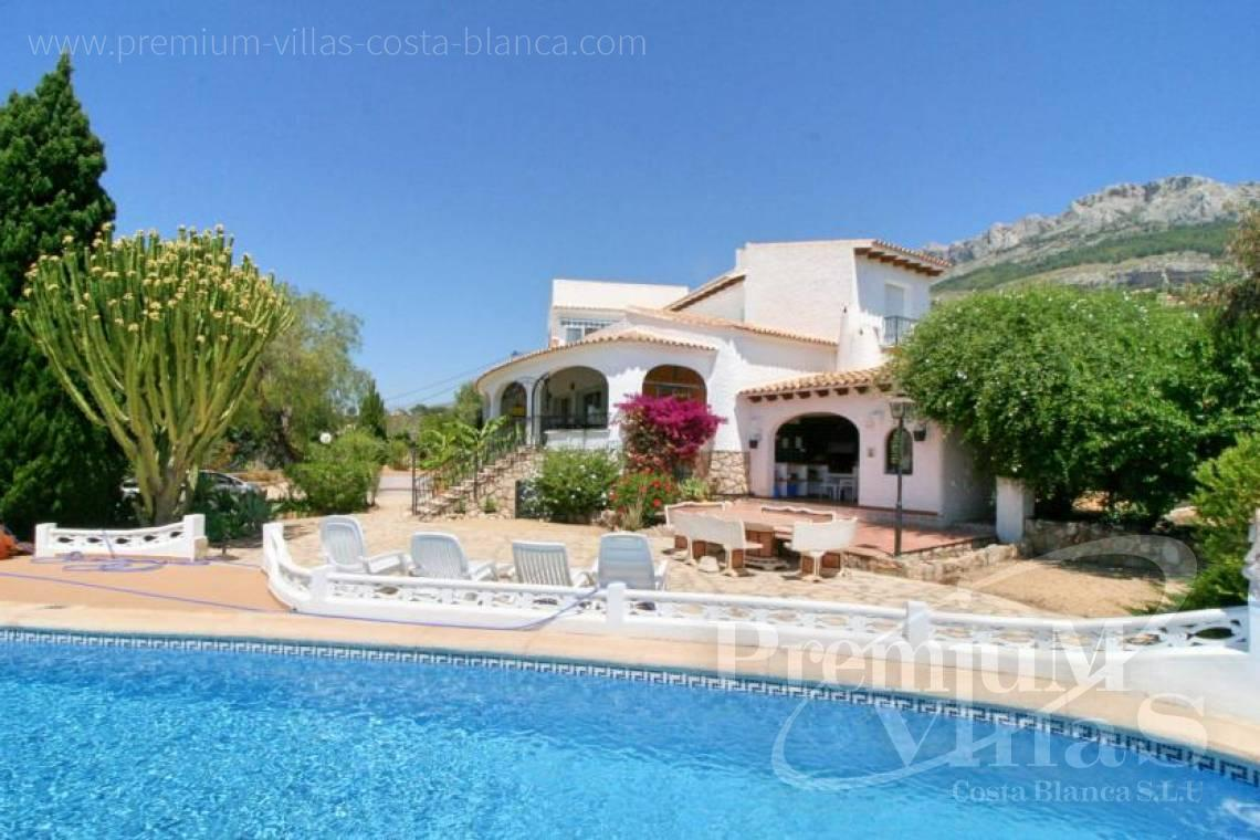 house villa for sale Altea Costa Blanca Spain - C2162 - Villa in Altea with guest apartment and sea views 28
