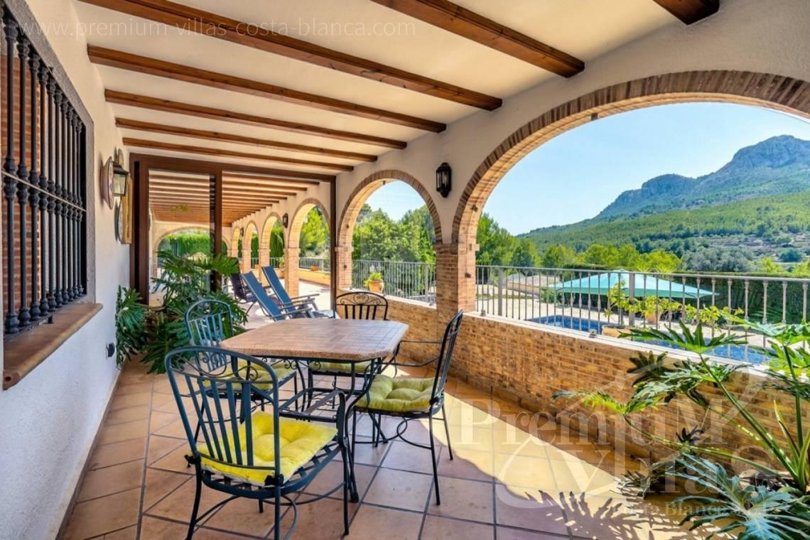 finca, land house for sale Benissa Costa Blanca - C2209 - Magnificent finca in Benissa with 10.000m2 of land with stunning mountain views 3
